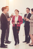 Supportive coworkers Royalty Free Stock Photography