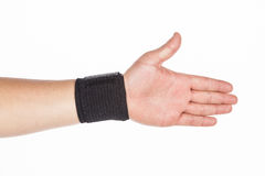Supportive orthopedic wrist. On white background Stock Photography
