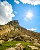 Supporto Aeneas Sunflare immagini stock libere da diritti
