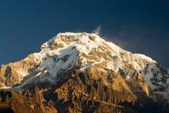 Supporto Annapurna Fotografia Stock Libera da Diritti