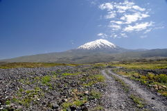 Il monte Ararat Fotografia Stock Libera da Diritti
