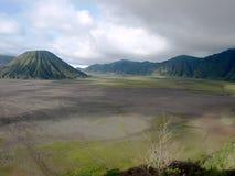 Supporto Bromo, East Java, Indonesia fotografie stock libere da diritti