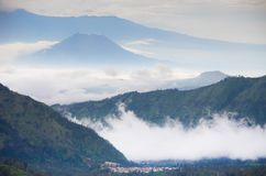 Supporto Bromo, East Java, Indonesia immagini stock libere da diritti
