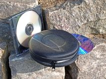 Supporto CD Fotografia Stock
