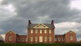 Supporto Clare Mansion a Baltimora, Maryland Immagine Stock