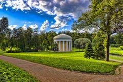 Supporto conico antico nel parco suburbano Fotografie Stock