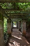 Supporto conico del giardino Fotografia Stock Libera da Diritti