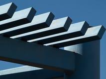 Supporto conico moderno del pergola Fotografie Stock