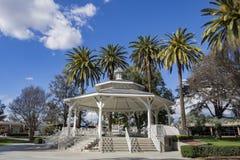 Supporto conico nel parco della città del tempio Immagine Stock