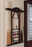 Supporto del biliardo di stecca di stagno della parete Fotografia Stock