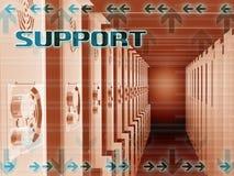 Supporto del server di World Wide Web Fotografia Stock