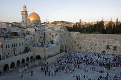 Supporto del tempiale a Gerusalemme Fotografia Stock Libera da Diritti