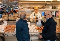 Supporto dell'uovo Fotografie Stock