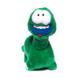 Supporto della bambola del dinosauro fotografia stock