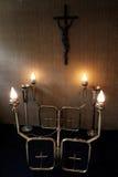 Supporto della candela Fotografie Stock
