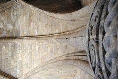 Supporto della cupola nella fortezza di Rodi Fotografia Stock