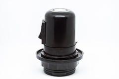 Supporto della lampada E27 con il commutatore Immagini Stock