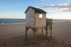 Supporto della spiaggia Fotografie Stock Libere da Diritti