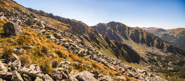 Supporto Derese, Tatras basso, Slovacchia Immagini Stock Libere da Diritti
