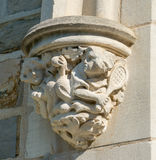 Supporto di arco decorativo del riparo dal 1930 Fotografia Stock Libera da Diritti