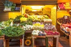 Supporto di frutta a Bologna Italia Immagine Stock