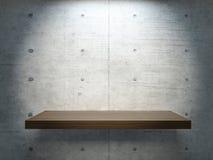 Supporto di legno nell'ambito della luce del punto Immagini Stock Libere da Diritti