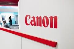 Supporto di mostra di Canon a Colonia Fotografia Stock