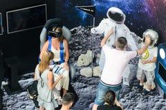 Supporto di mostra di Samsung di realtà virtuale Immagine Stock Libera da Diritti