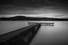 Supporto di pesca di Derg del Lough Fotografia Stock