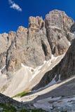 Supporto di Piz - di Dolomiti da Lech Fotografia Stock Libera da Diritti