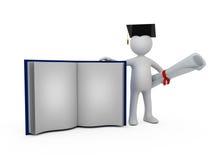 Supporto di una laurea Immagine Stock
