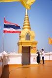 Supporto dorato, Bangkok Immagini Stock