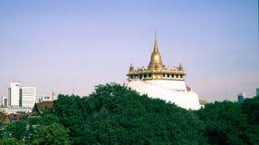 Supporto dorato, Bangkok, Tailandia immagini stock