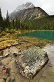 Supporto Edith Cavell del lago Cavell Fotografia Stock