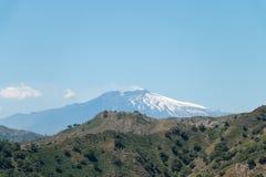 Supporto Etna Fotografia Stock Libera da Diritti