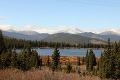 Supporto Evans Scenic Byway, Denver Mountains Immagine Stock Libera da Diritti
