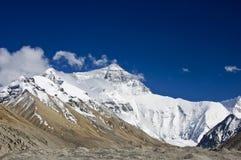 Supporto Everest, fronte del nord Immagini Stock Libere da Diritti