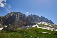 Supporto Fisht, Caucaso del nord, Russia fotografia stock libera da diritti