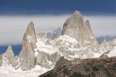 Supporto Fitz Roy, Patagonia, Argentina Fotografie Stock Libere da Diritti