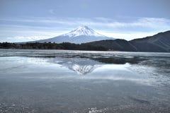 Supporto Fuji di riflessione Immagine Stock