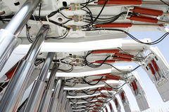 Supporto idraulico Fotografia Stock Libera da Diritti