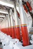 Supporto idraulico Immagine Stock