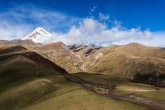 Supporto Kazbek Fotografia Stock Libera da Diritti