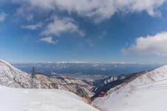supporto Kiso-Komagatake, alpi centrali, Nakano, Giappone Immagine Stock Libera da Diritti