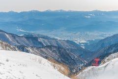 supporto Kiso-Komagatake, alpi centrali, Nakano, Giappone Fotografia Stock Libera da Diritti
