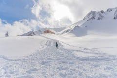 supporto Kiso-Komagatake, alpi centrali, Nakano, Giappone Fotografie Stock