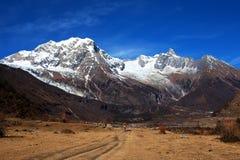 Supporto Manaslu, Nepal Fotografia Stock