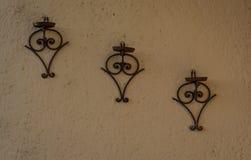 Supporto ornamentale antico del vaso Immagini Stock Libere da Diritti