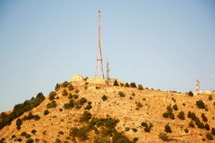 Supporto Pantokrator, Corfù, Grecia Immagini Stock Libere da Diritti