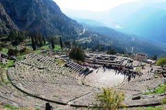 Supporto Parnassus, Grecia Fotografia Stock